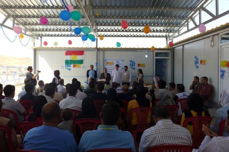 Große Anteilnahme an Eröffnung des Gemeindezentrums in Berseve Nordirak
