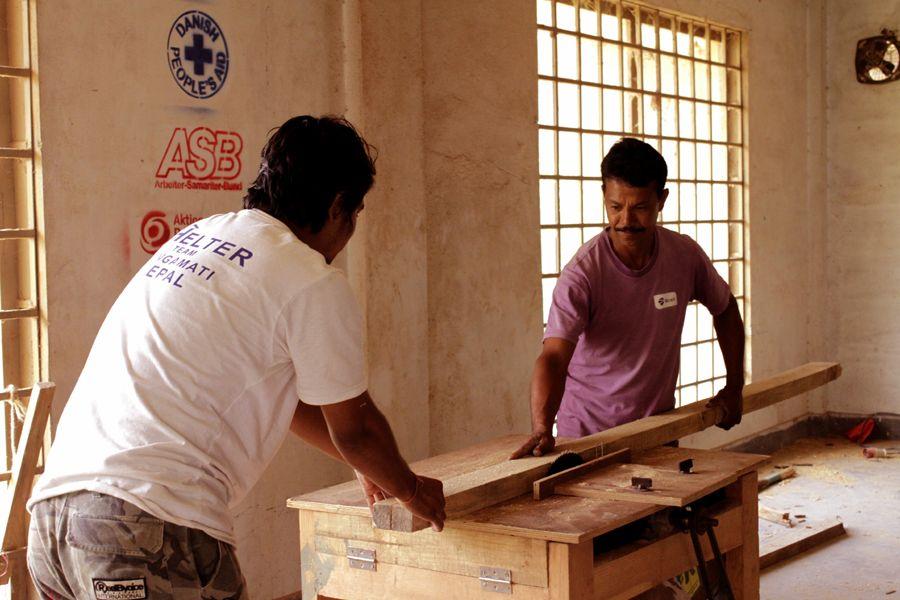 sechs Monate ASB-Hilfe in Nepal.
