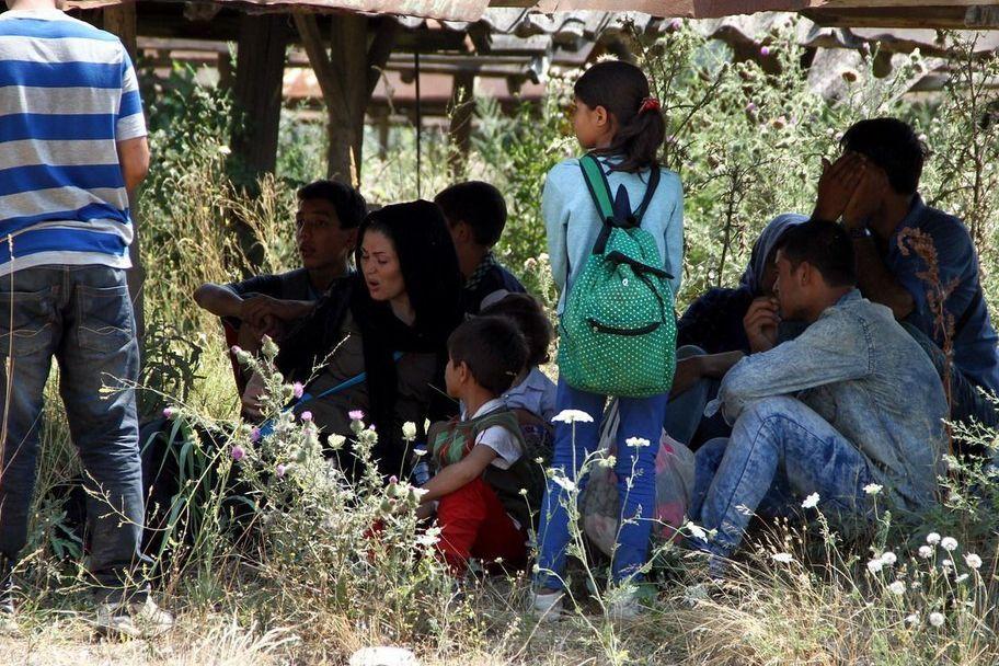 Flüchtlinge im serbischen Subotica