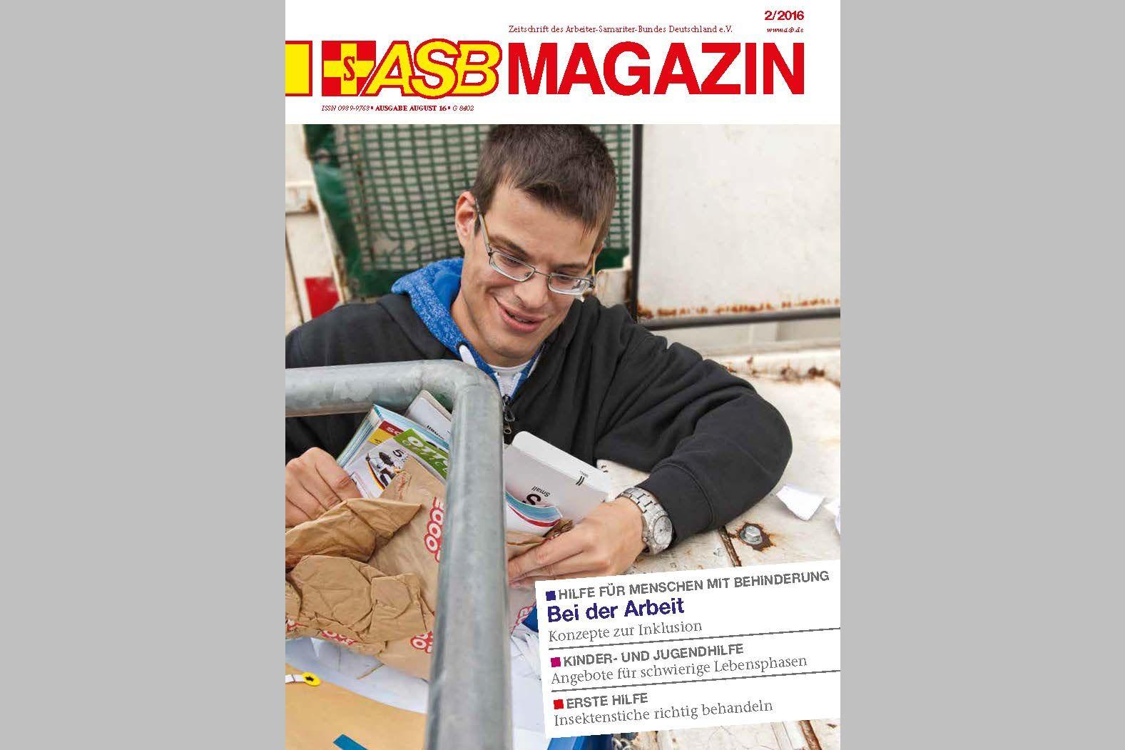 Das neue ASB Magazin ist da