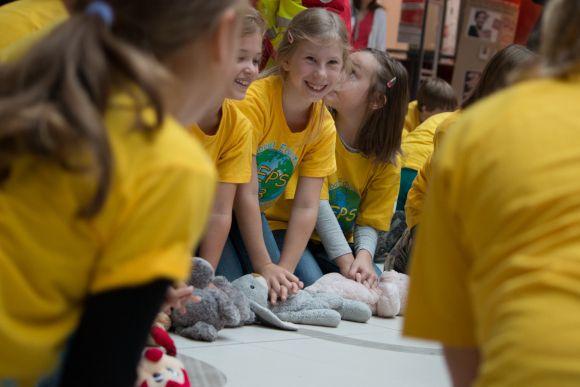 Kinder lernen Erste Hilfe