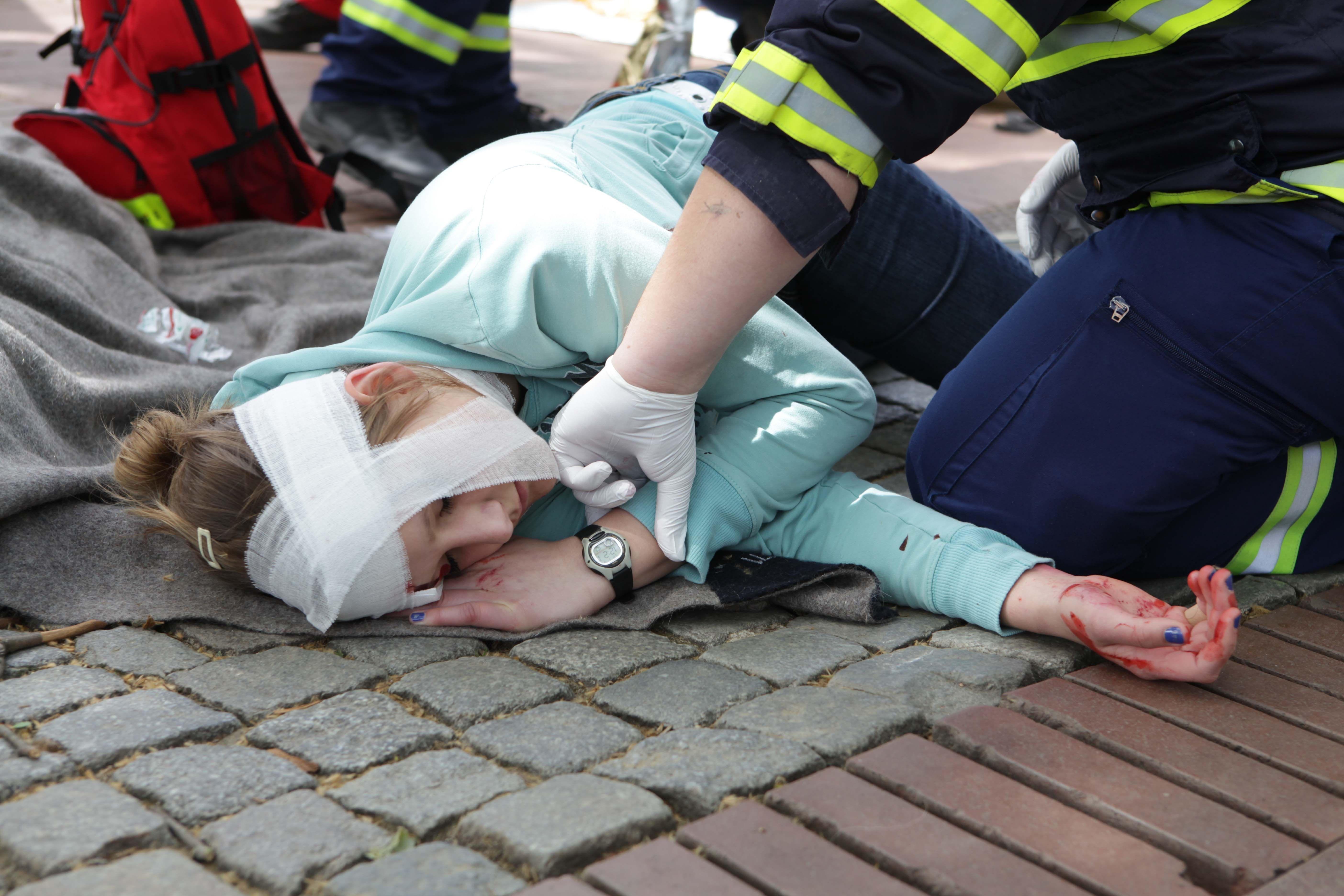 Erste Hilfe bei Schnittverletzungen