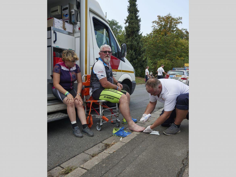 Bayerische Samariter Im Einsatz