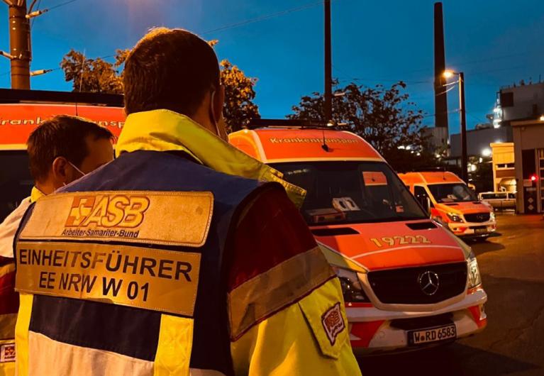 ASB hilft bei Unwetterkatastrophe in NRW und Rheinland-Pfalz