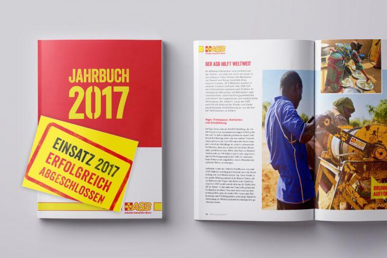 Das ASB-Jahrbuch 2017 ist erschienen
