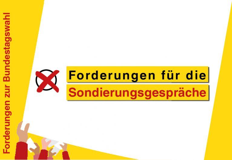 Forderungen des ASB für die Sondierungsgespräche zwischen SPD, Grünen und FDP