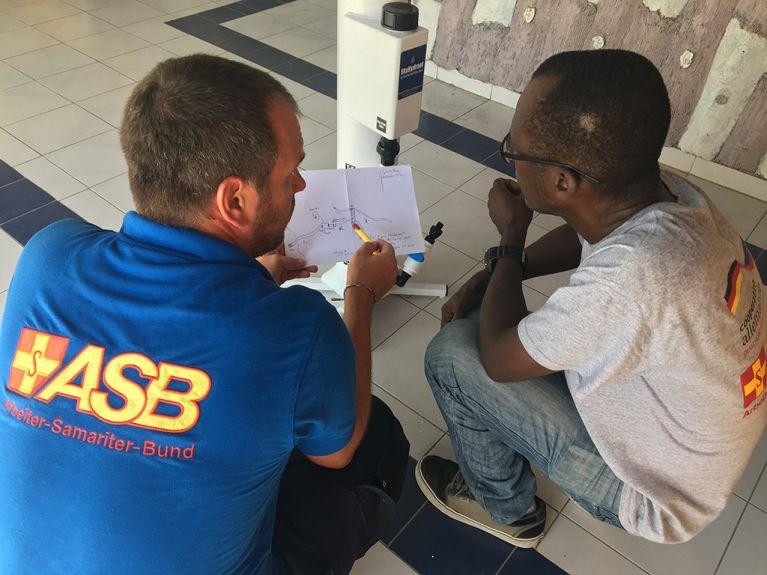 Nach Erdbeben in Haiti: ASB hilft mit Trinkwasseraufbereitung