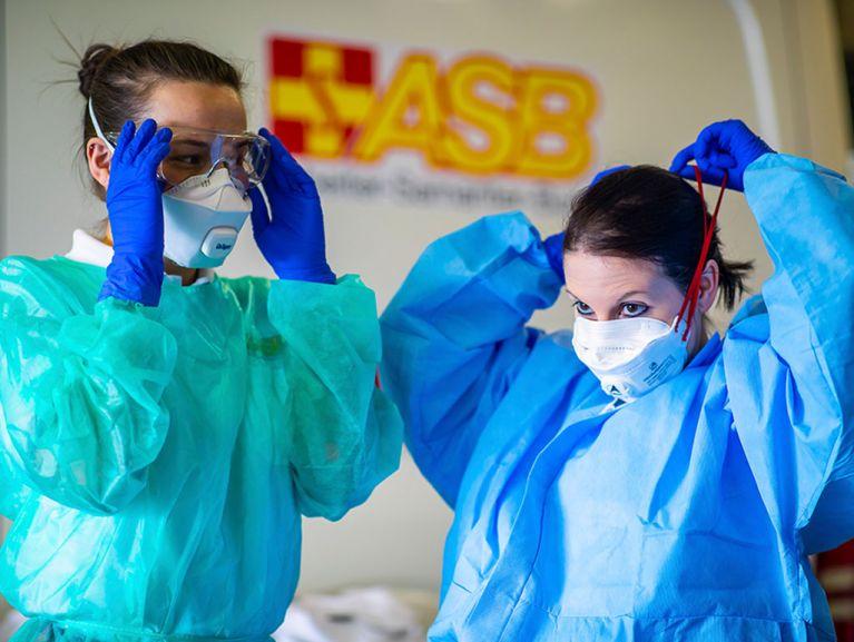 Arbeiter-Samariter-Bund in über 200 Impf- und Testzentren bundesweit im Einsatz