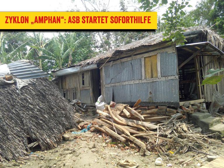 """Zyklon """"Amphan"""": ASB startet Soforthilfe in Bangladesch"""
