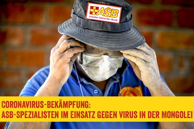 Coronavirus-Bekämpfung: ASB-Spezialteam reist in die Mongolei