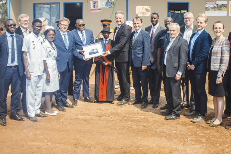 ASB verbessert medizinische Versorgung in Sambia