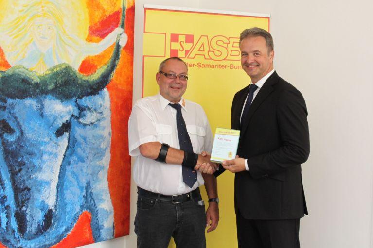 Freiwilliger des Monats September: Falk Haase
