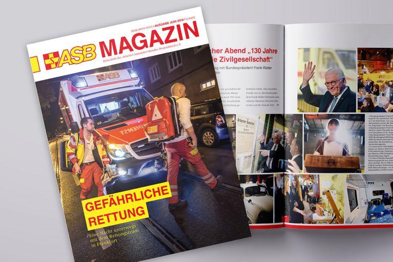 Das neue ASB-Magazin ist erschienen