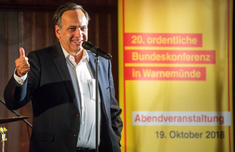 Bundesvorsitzender Knut Fleckenstein im Amt bestätigt