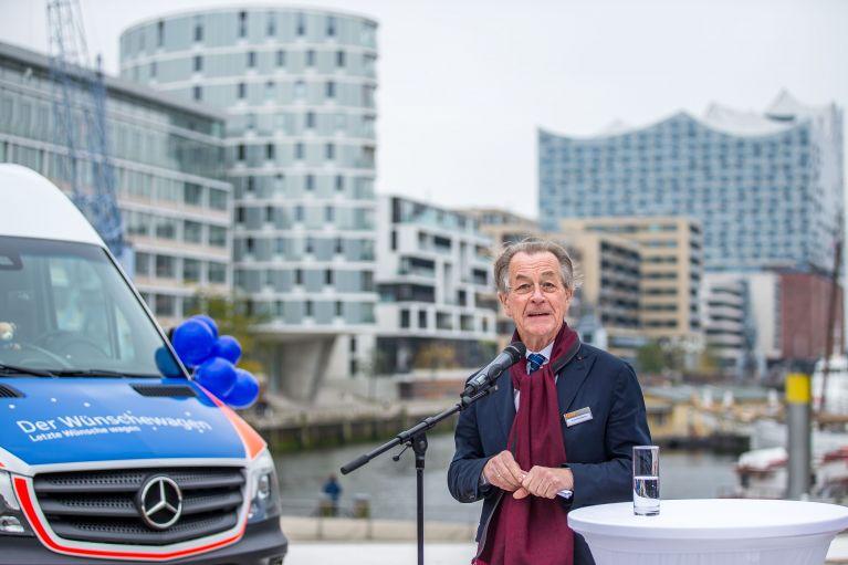 ASB startet 13. Wünschewagen in Hamburg