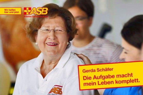 Gerda Schäfer: Die Aufgabe macht mein Leben komplett
