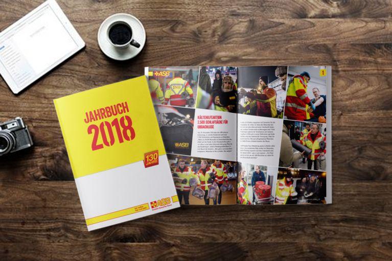 Das ASB-Jahrbuch 2018 ist da