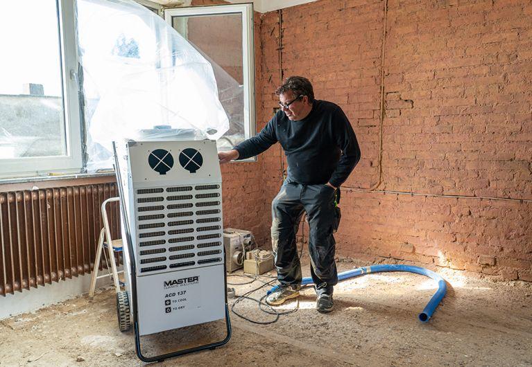 Der ASB hilft den Menschen nach der Flutkatastrophe